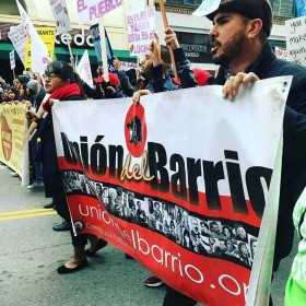 Thousands rally for immigrant rights in downtown Los Angeles